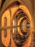 Spain, Andalucia, Sevilla, Real Alcazar Palace, Royal Baths of Dona Maria De Padilla Photographic Print by Michele Falzone