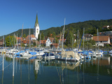 Marina of Sipplingen, Lake Constance, Baden-Wuerttemberg, Germany Photographic Print by Katja Kreder