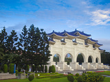Taiwan, Taipei, Entrance Gate, Chiang Kai-Shek Memorial Hall Photographic Print by Jane Sweeney