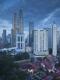 Petronas Towers, Kuala Lumpur, Malaysia Photographic Print by Jon Arnold