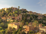 Spain, Balearic Islands, Mallorca, Serra De Tramuntana, Deia Village Photographic Print by Michele Falzone