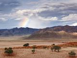 Rainbow, Namibia, Africa Photographic Print by Nadia Isakova