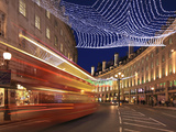 Christmas Decorations, Regent Street, London, England, UK Photographic Print by Jon Arnold