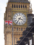 Big Ben (Clock Tower), Houses of Parliament and Portcullis House, London, England, Uk Photographic Print by Jon Arnold