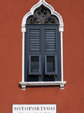 Venice, Veneto, Italy, a Venetian Window Photographic Print by Ken Scicluna