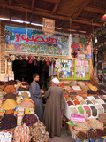 Egypt, Upper Egypt, Aswan, Old Town Souk Photographic Print by Alan Copson