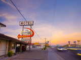 USA, Arizona, Kingman, Route 66, Route 66 Motel Photographic Print by Alan Copson