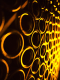 France, Marne, Champagne Region, Epernay, Moet and Chandon Champagne Winery, Champagne Cellars Photographic Print by Walter Bibikow