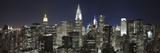 Midtown Skyline with Chrysler Building and Empire State Building, Manhattan, New York City, USA Papier Photo par Jon Arnold