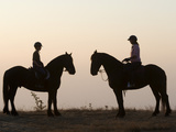 Malawi, Zomba Plateau, a Horse Riding Safari Is a Popular Way to Explore Zomba Plateau, (MR) Photographic Print by John Warburton-lee