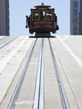 Cable Car Crossing California Street in San Francisco, California, USA Photographic Print by Gavin Hellier
