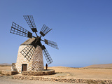 Traditional Windmill in Los Molinos, Fuerteventura, Canary Islands Photographic Print by Mauricio Abreu