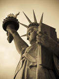 USA, New York, Statue of Liberty Fotografie-Druck von Alan Copson