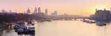 UK, England, London, City of London Skyline at Sunrise Photographic Print by Alan Copson