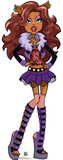 Monster High - Clawdeen Wolf Cardboard Cutouts