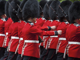 United Kingdom, England, London, the Mall, Trooping of the Colour, Solders/Guards Photographic Print by Jane Sweeney