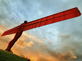 Europe, England, Newcastle, Angel of the North Photographic Print by Mark Sykes