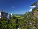 Neuschwanstein Castle View from the Marianbrucke, Hohenschwangau, Schwangau, Bayern, Germany Photographic Print by Cahir Davitt