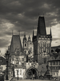 Czech Republic, Prague, Stare Mesto (Old Town), Little Quarter (Mala Strana) and Charles Bridge Photographic Print by Michele Falzone
