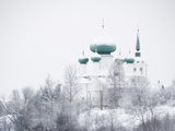 Church of St. John the Baptist in Winter, Staraya Ladoga, Leningrad Region, Russia Photographic Print by Nadia Isakova