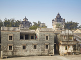 Jinjiangli Village (UNESCO World Heritage Site), Kaiping, Guangdong, China Photographic Print by Ian Trower