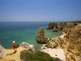 Praia Da Marinha, Lagoa, Algarve, Portugal (Mr) Photographic Print by Katja Kreder