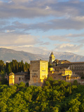 The Alhambra Palace, Granada, Granada Province, Andalucia, Spain Photographic Print by Doug Pearson