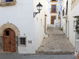 Spain, Balearic Islands, Ibiza, Ibiza Old Town (UNESCO Site), Dalt Vila Photographie par Michele Falzone