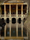Italy, Veneto, Vicenza, Western Europe, 'Loggetta Valmarana' on a Canal Which Today Forms Part of O Photographic Print by Ken Scicluna