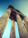 Lebanon, Baalbek, Temple of Bacchus Photographic Print by Michele Falzone