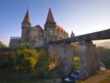 Hunyadi Castle or Corvin's Castle, Hunedoara, Transylvania, Romania Photographic Print by Doug Pearson