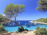 Spain, Balearic Islands, Ibiza, Cala Salada Beach Photographic Print by Michele Falzone