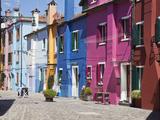 Burano, Venice, Italy Photographic Print by Jon Arnold