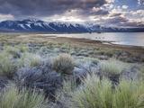 USA, California, Eastern Sierra Nevada Area, Lee Vining, Mono Lake, Mountain Landscape Photographic Print by Walter Bibikow