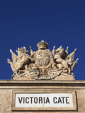 Malta, Europe, Coat of Arms on the Victoria Gate, Dating Back to the British Rule Photographic Print by Ken Scicluna