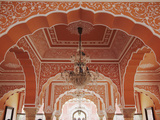 Diwan-I-Khas (Hall of Private Audience), City Palace, Jaipur, Rajasthan, India Photographic Print by Ian Trower