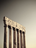 Lebanon, Baalbek, Temple of Jupiter Photographic Print by Michele Falzone