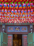 Korea, Seoul, Gangnam, Bongeunsa Temple, Lanterns, Lotus Lantern Festival Celebrations for Bhuddda&#39; Photographic Print by Jane Sweeney