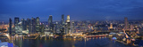 Singapore, Singapore Aerial View of Singapore Skyline Photographic Print by Michele Falzone
