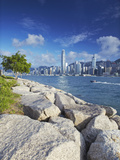 Hong Kong Island Skyline, Hong Kong, China Photographic Print by Ian Trower