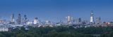 City of London Skyline Above Hyde Park, London, England, Uk Photographic Print by Jon Arnold