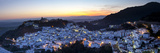 Casares at Sunset, Casares, Malaga Province, Andalusia, Spain Photographic Print by Doug Pearson