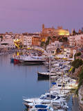 Harbour and Waterfront of Ciutadella, Menorca, Balearic Islands, Spain Photographic Print by Doug Pearson