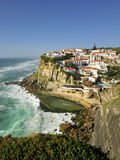 Azenhas Do Mar, Near Sintra, in Front of the Atlantic Ocean. Portugal Photographic Print by Mauricio Abreu