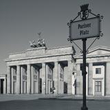 Brandenburg Gate, Pariser Platz, Berlin, Germany Photographic Print by Jon Arnold