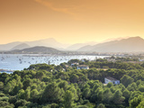 Spain, Balearic Islands, Mallorca, Puerto Pollenca Bay Photographic Print by Michele Falzone