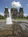 The Berlin Cathedral (Berliner Dom) in the Centre of Berlin on a Summer's Day Photographic Print by David Bank