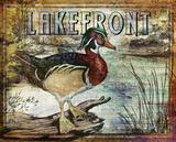 Duck Sign II Plakater af Paul Brent