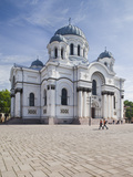 Lithuania, Central Lithuania, Kaunas, St. Michael the Archangel Church Photographic Print by Walter Bibikow