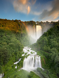 Italy, Umbria, Terni District, Terni, Marmore Falls, One of the Tallest Waterfalls in Europe, 165 M Photographic Print by Francesco Iacobelli